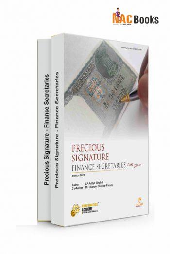 Precious Signatures : Finance Secretaries